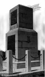 Mere, 43rd Wessex Division Memorial c.1955