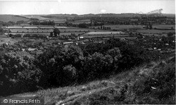 Mere, From Castle Hill c.1955