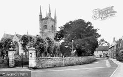 Mere, St Michael's Church c.1960
