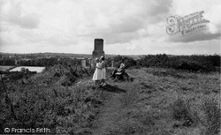 Mere, Summit Of Castle Hill c.1955