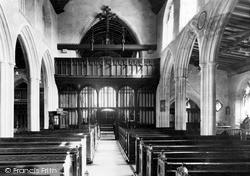 Mere, The Church Interior c.1960