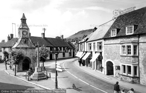 Photo of Mere, the Square c1955