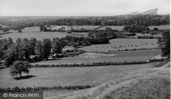 Mere, View From Castle Hill c.1955