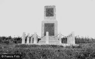 Mere, Wessex Division Memorial c1960