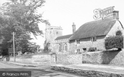 All Saints' Church c.1955, Merriott