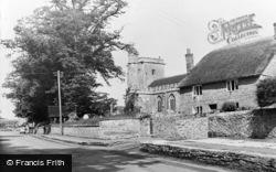 Church Street c.1960, Merriott