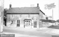 Post Office c.1960, Merriott