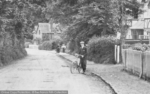 Merrow, A Cyclist 1907
