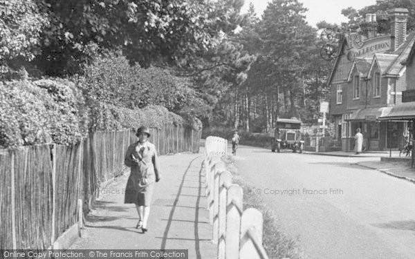 Merrow, A Woman Walking 1927