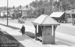 Merrow, Epsom Road, Bus Shelter 1936