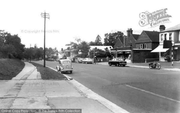 Photo of Merrow, Epsom Road c.1955