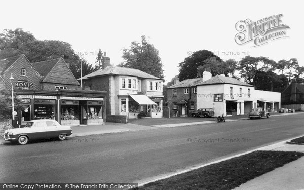 Merrow, Epsom Road c1955.  (Neg. M66008)  © Copyright The Francis Frith Collection 2008. http://www.francisfrith.com