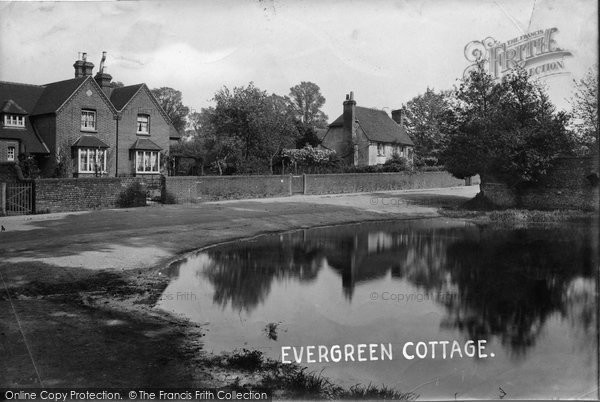 Photo of Merrow, Evergreen Cottage 1913