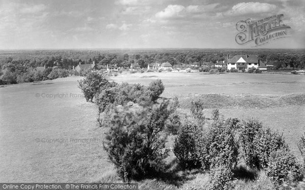 Merrow, Fairway From The Downs 1936