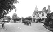 Merrow, Hotel And St John's Church 1927
