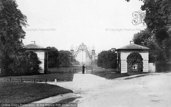 Photo of Merrow, Park Gates And Lodge 1904
