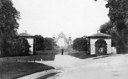 Merrow, Park Gates And Lodge 1904