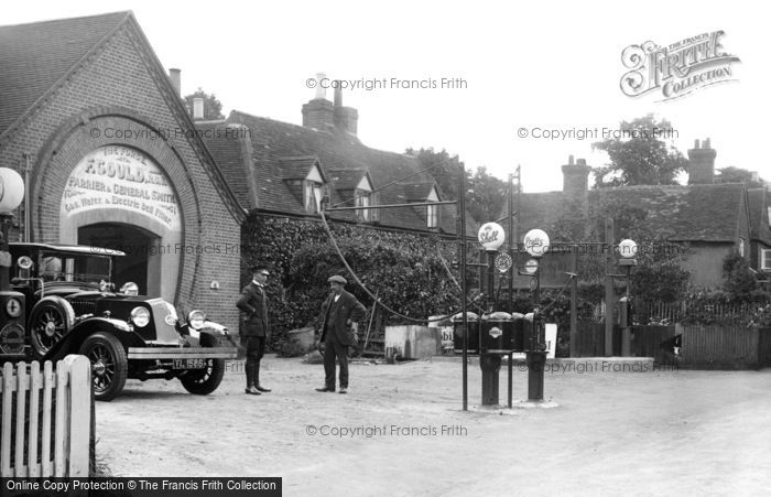 Photo of Merrow, Petrol Pumps At The Forge 1927