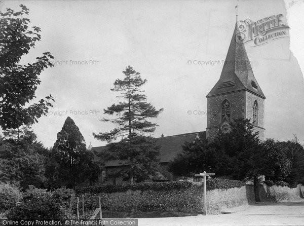 Merrow, St John's Church 1906