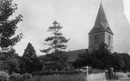 Merrow, St John's Church 1906