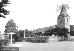 Merrow, St John's Church 1927