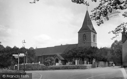 Merrow, St John's Church 1934