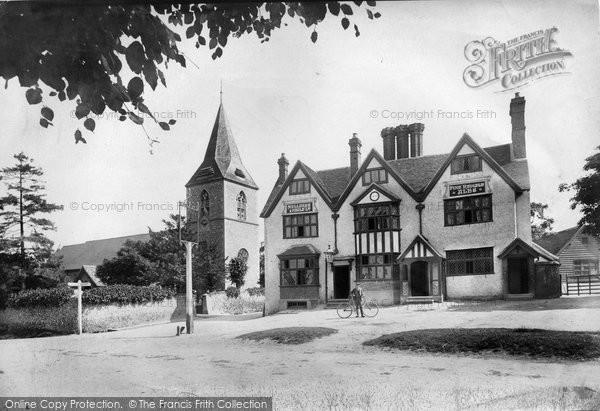 Merrow, St John's Church And Hotel 1904
