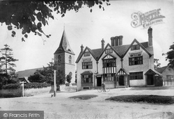 Merrow, St John's Church And Hotel 1904