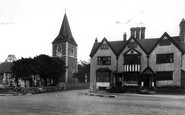 Merrow, St John's Church And House c.1955