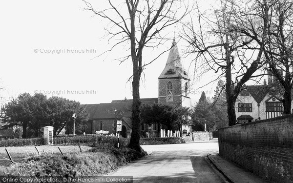 Merrow, St John's Church c.1955