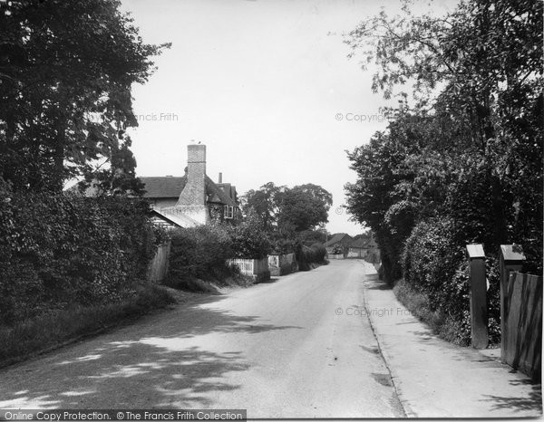 Photo of Merrow, Street 1936