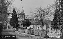 The Church c.1955, Merrow