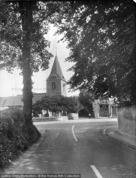 Merrow, The Cross Roads 1936
