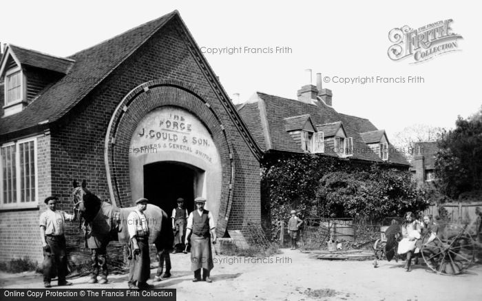 Merrow, the Forge 1913.  (Neg. 65231)  © Copyright The Francis Frith Collection 2008. http://www.francisfrith.com