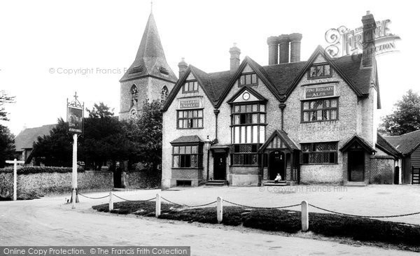 Photo of Merrow, The Horse And Groom 1911