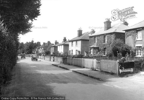 Photo of Merrow, The Village 1927