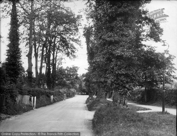 Photo of Merrow, Trodds Lane 1936