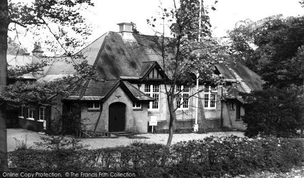 Photo of Merrow, Village Hall c1955