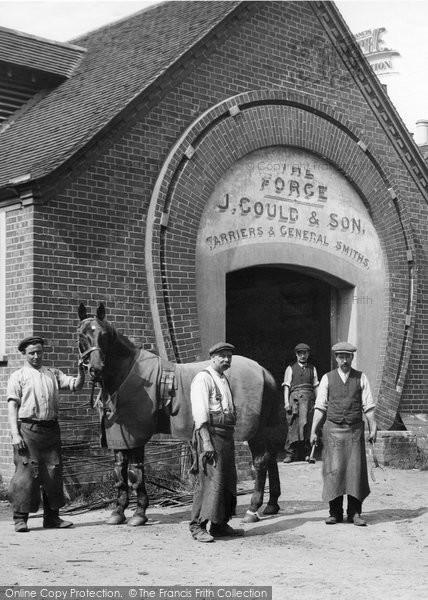 Merrow, Workmen, The Forge 1913
