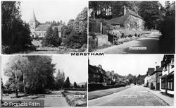 Merstham, Composite c.1965