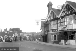 Merstham, Feathers Hotel 1931