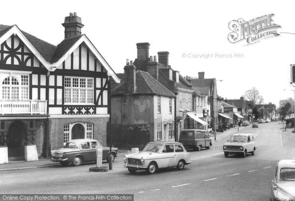 Merstham, High Street, c.1965.  Reproduced courtesy of The Francis Frith Collection