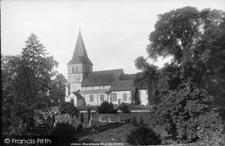 Merstham, St Katharine's Church 1902
