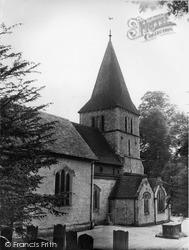 Merstham, St Katharine's Church c.1960