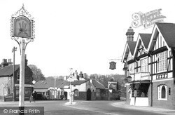 Merstham, The Feathers Hotel c.1955