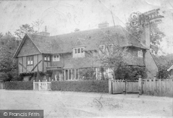 Merstham, The Old Forge 1902