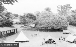 Merthyr Mawr, Central Glamorgan Girl Guides Camp c.1955