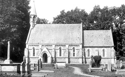 Merthyr Mawr, Church 1901