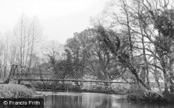 Swing Bridge 1937, Merthyr Mawr