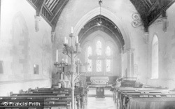 Merthyr Mawr, The Church c.1955